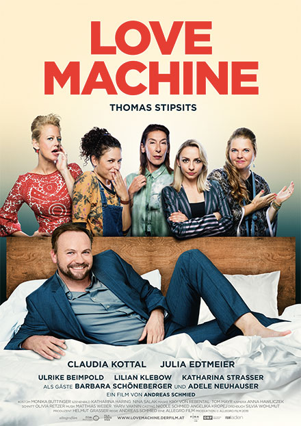 Filmplakat von Love Machine